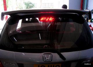 Red LED High Mount Stop Brake Light Honda Fit 1st Gen 03 08