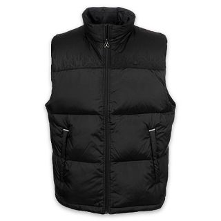 Jordan Mens Black Cat Full Zip Filled Vest Black