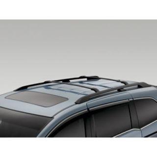 2011 2012 Honda Odyssey Black Cross Bars Side Rails Complete Kit