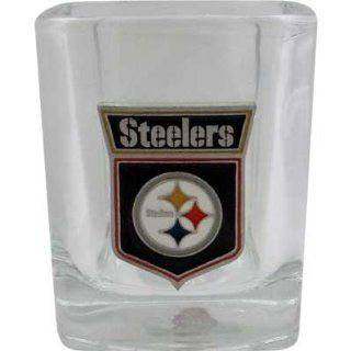 SQUARE ROCKS GLASS STEELERS Toys & Games