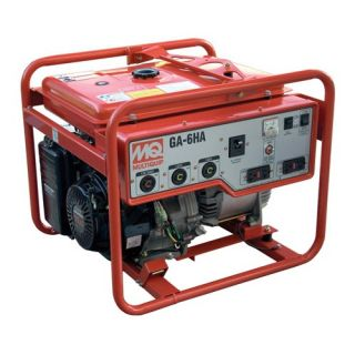 Recoil Start 6000 Watt Honda GX340 Portable Generator GA6HA