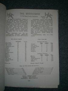 1959 Honesdale PA High School Graduation Magazine