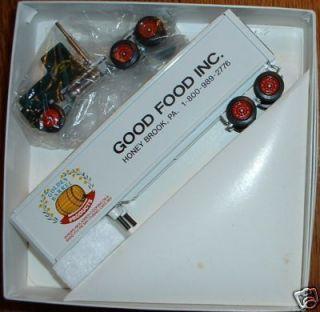 Good Food Golden Barrell Honey Brook PA Winross Truck