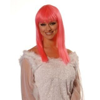 Wicked Wigs 812223011288 Eden Hot Pink Wig Everything