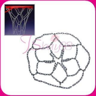 New Durable Metal Chain Basketball Hoop Netting Net Rim