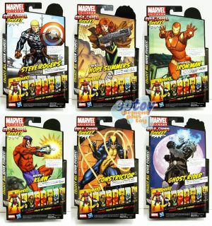 Marvel Legends Build A Figures Collection Terrax Series 6 Figures Set