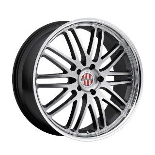 19x11 Victor Lemans (Hyper Silver w/ Mirror Lip) Wheels/Rims 5x130