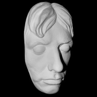Lord Horatio Nelson Rare Life Mask Life Cast in Light Weight White