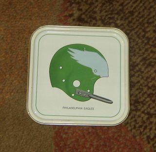 1965 Hormel Meat Tray Vintage NFL Helmet Philadelphia Eagles