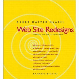 Adobe Master Class Web Site Redesigns Darcy DiNucci 0785342758641