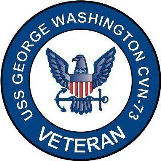 US Navy USS George Washington CVN 73 Ship Veteran Decal Sticker 3.8