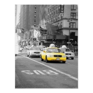 superb photo of a typical New York Taxi cab!