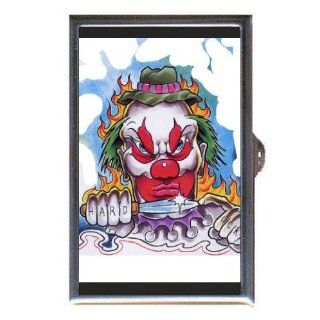 Evil Clown Hard Luck Knife Art Coin, Mint or Pill Box