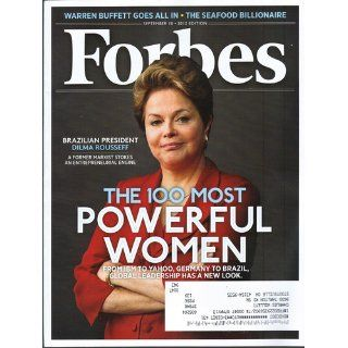 Forbes Magazine September 10 2012   The 100 Most Powerful