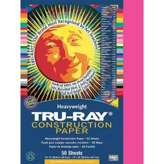 Pacon 103013   Tru Ray Construction Paper, 76 lbs., 9 x 12