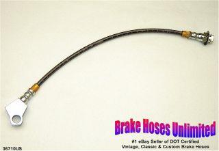 Stainless Rear Brake Hose Mercury Comet 1971 1972 1973