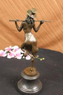 15 Aldo Vitaleh Nude Sexy Girl Bronze Statue Sculpture