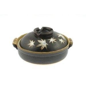 Kyoto Maple 9 3 4 inch Donabe Japanese Hot Pot