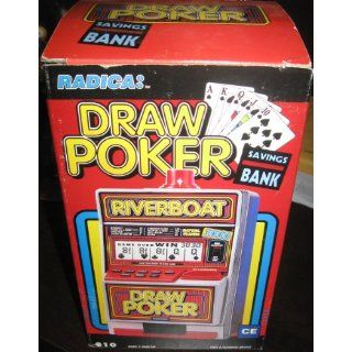 DRAW POKER   Electronic Automatic Jackpot Slot Machine