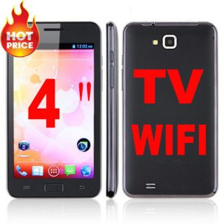 Hot 4 0 TV WiFi Touch Screen Mobile Cell Phone Unlocked Dual Sim