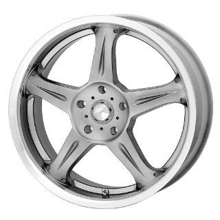 American Racing Coil AR388 Hyper Black Wheel with Machined Lip (17x7