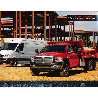 2009 Dodge Commercial Truck Sprinter Ram Sales Brochure