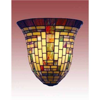 Tiffany Style Stained Glass Wall Sconce Lamp Fixture
