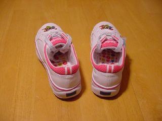 Keds Allison Girls White Hot Pink Leather Tennis Shoe