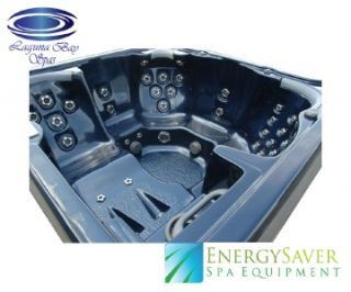 New Spa 81 Jet Hot Tub with Two 6 HP Pumps