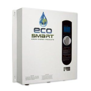 Electric Tankless Hot Water Heater   Whole House   EcoSmart 27   BRAND