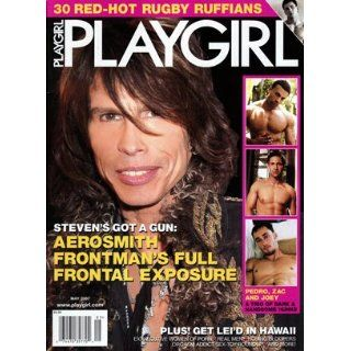 Playgirl Magazine Entertainment for Women (May 2007