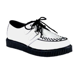 1 Inch MENS SIZING Leather Shoes Creepers Wooven Pattern