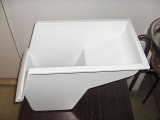 GE,Hotpoint,Kenmore refrigerator freezer slide out drawer,white,part #