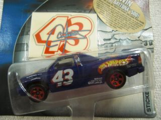 hot wheels nascar racing #43 dodge ram truck race team variation ship