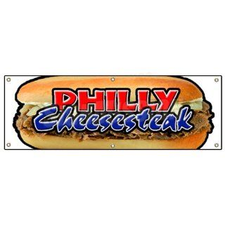 72 PHILLY CHEESE STEAK BANNER SIGN cheesesteak signs