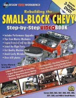 How to Rebuild Chevy V8 Engine Book and DVD 283 305 307 327 350 400