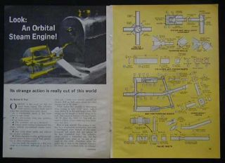 Orbital Steam Engine How to Build Plans No Machining