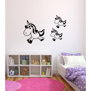 Unicorn Vinyl Wall Decal Sticker Graphic By LKS Trading
