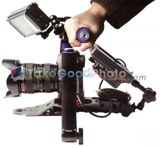 DSLR Shoulder Rig Stabilizer for Canon 5D Mark II 7D 60D T3i EOS 1dx