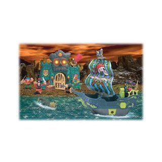 Pirate Adventures: Battle Island Playset: Toys & Games