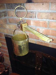 Antique Howe Grain Scales Winchester Bushel Brass