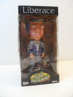 Liberace Bobblehead Made by NECA Head Knockers Hand Painted
