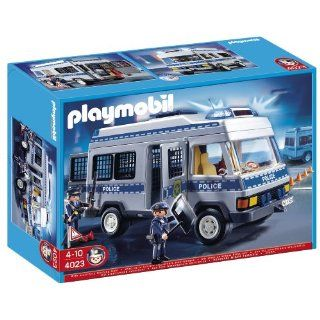 Playmobil Police Transport Vehicle: Toys & Games
