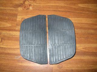 50613 91 Harley Davidson Passenger Floorboard Inserts For FLT and