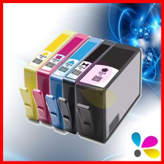 Combo Pack of 5 HP 564 XL Ink Cartridge Set for HP Photosmart C410a