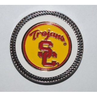 Golf Challenge Coin w/ Two Southern Cal NCAA Golf Ball