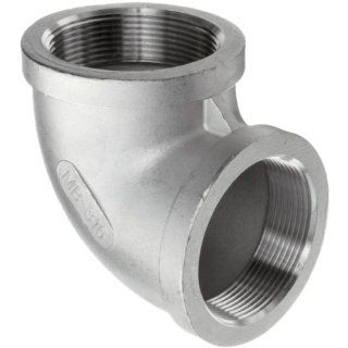 Stainless Steel 316 Cast Pipe Fitting, 90 Degree Elbow, MSS SP 114, 1