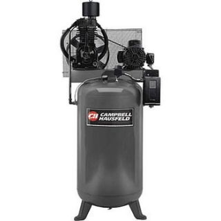 Campbell Hausfeld 5 HP Two Stage 80 Gallon Oil Lube 3 Phase Stationary