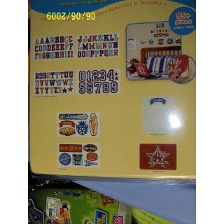 Instant Room Decor 95+ Letters & Numbers  Boy Theme (Value