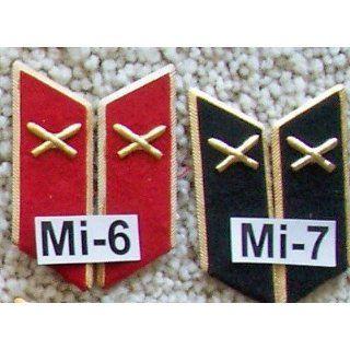 Military Collar Insignia Russian USSR Soviet * Artillery
